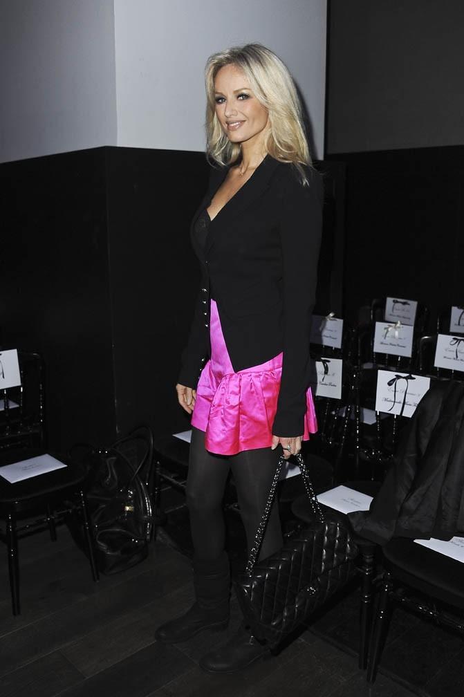 Petite jupe flashy pour Adriana !