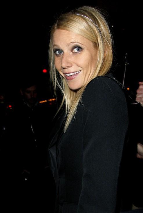 Gwyneth Paltrow à la soirée Louis Vuitton