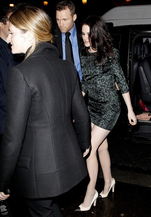 Kristen Stewart à la soirée Louis Vuitton
