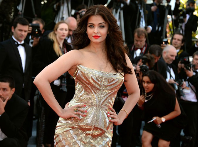 Cannes 2014 : Aishwarya Rai : show ultra-glamour pour la sublime beaut� indienne !
