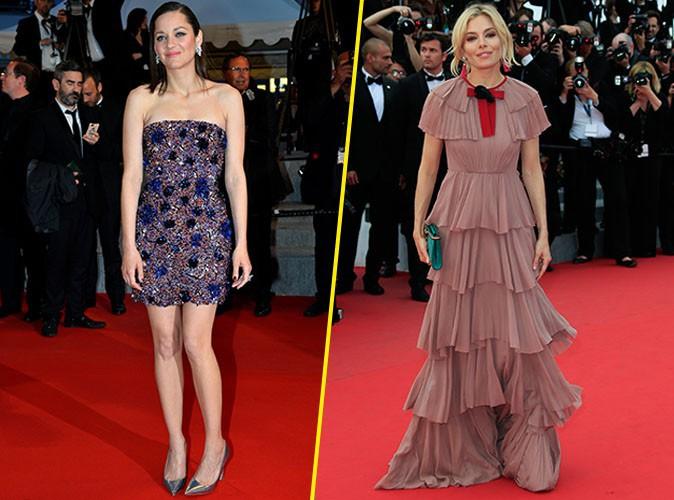 Photos Cannes 2015 Marion Cotillard Vs Sienna Miller Laquelle R Gne Sur Le Tapis Rouge