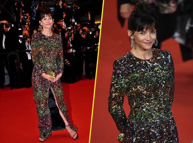 Cannes 2015 : Sophie Marceau scintille sur le redcarpet !