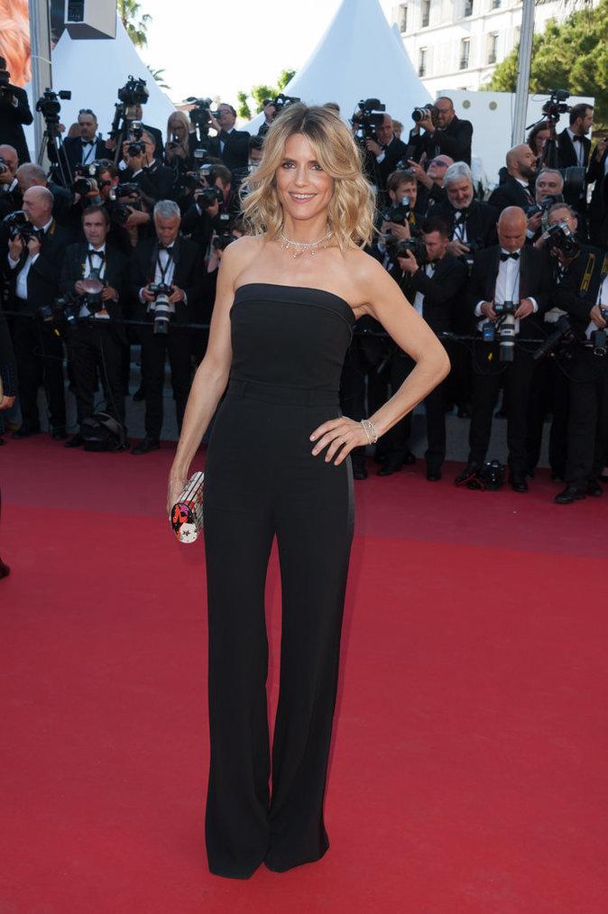 Alice Taglioni en combinaison Elie Saab - Cannes, le 17 mai 2017