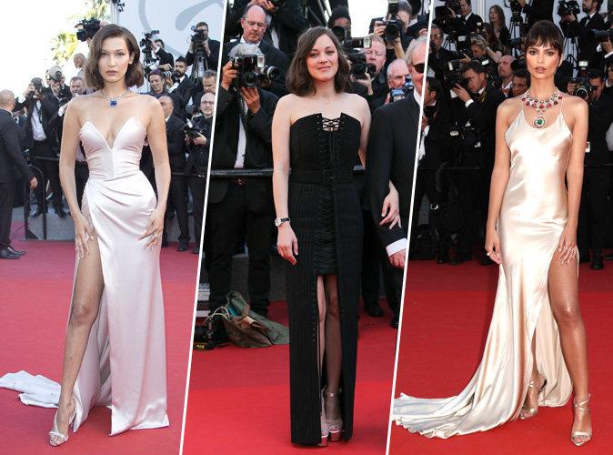 Cannes 2017 : Bella Hadid, Marion Cotillard, Emily Ratajkowski... tous les plus beaux looks de la cérémonie d'ouverture !