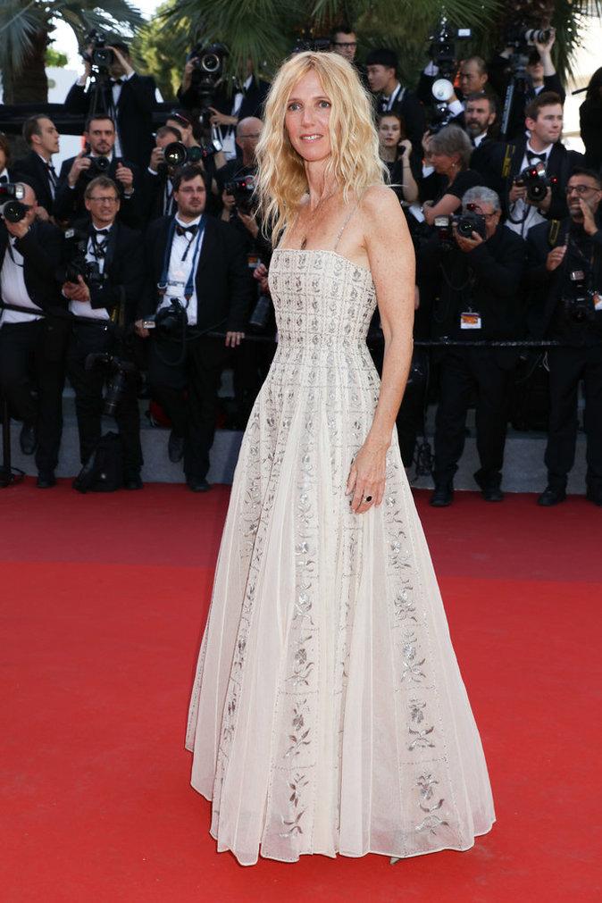 Sandrine Kiberlain - Cannes, le 17 mai 2017