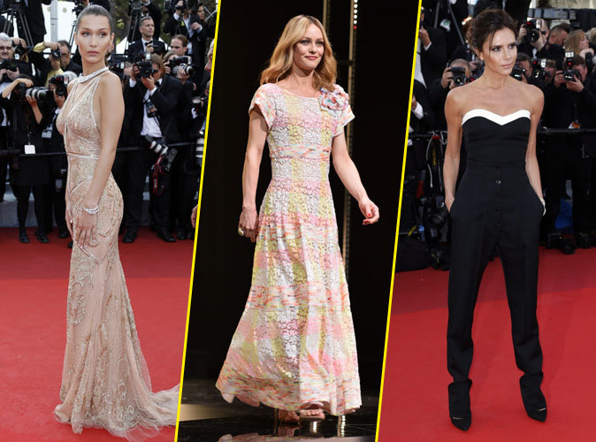 Cannes 2016 : Bella Hadid, Vanessa Paradis, Victoria Beckham... les beautiful people de