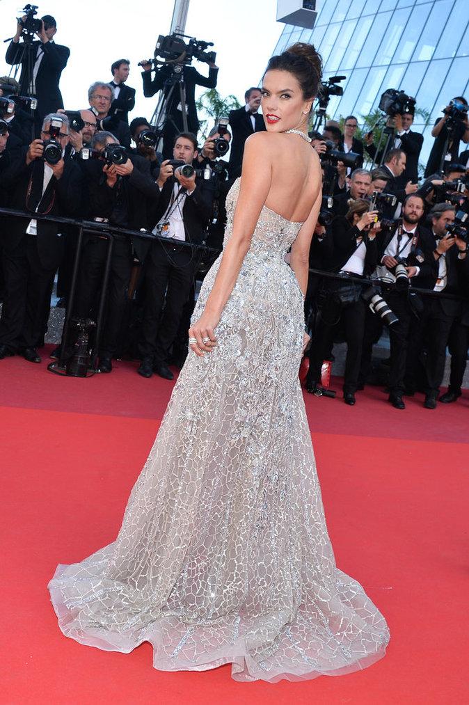 "Alessandra Ambrosio en Zuhair Murad Couture pour ""The Last Face"""