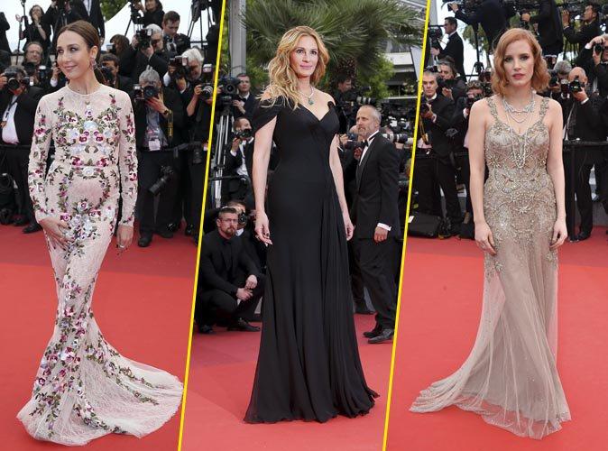 Cannes 2016 : Julia Roberts, Jessica Chastain et Elsa Zylberstein au top de leur beauté pour