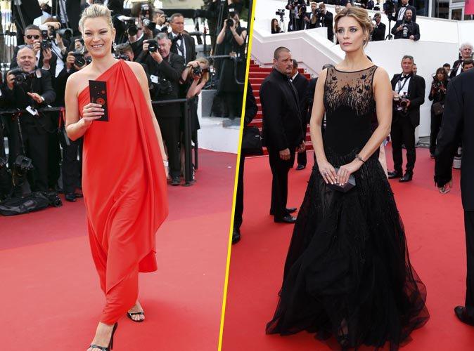 Cannes 2016 : Kate Moss et Mischa Barton glamour et sexy sur le red carpet pour