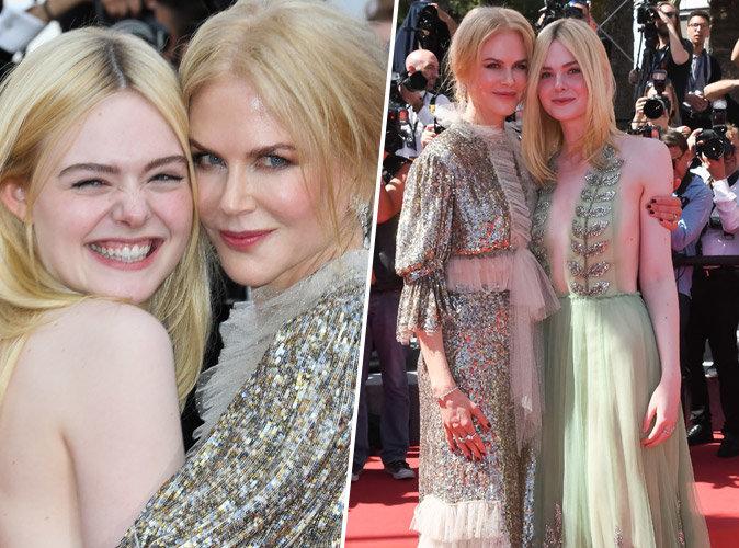 Cannes 2017 : Nicole Kidman et Elle Fanning, un duo complice qui enflamme la Croisette