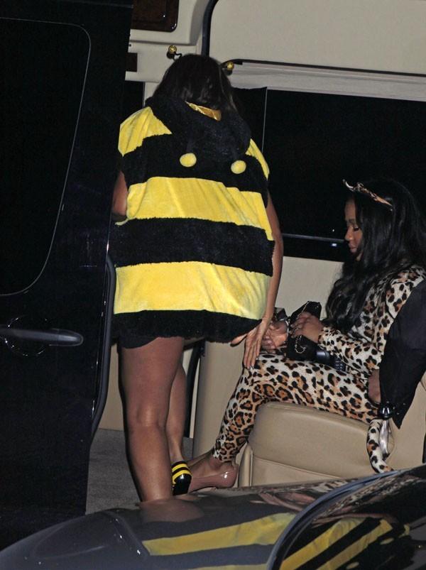 L'abeille rentre chez elle ...