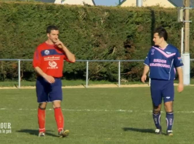 Photos : Matthieu a convié ses prétendantes  à l'admirer jouer au foot !