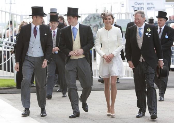 La famille royale était à leurs côtés...
