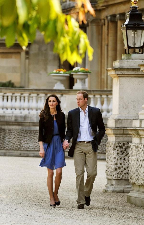 William et Kate Middleton, comme n'importe quel couple d'amoureux !