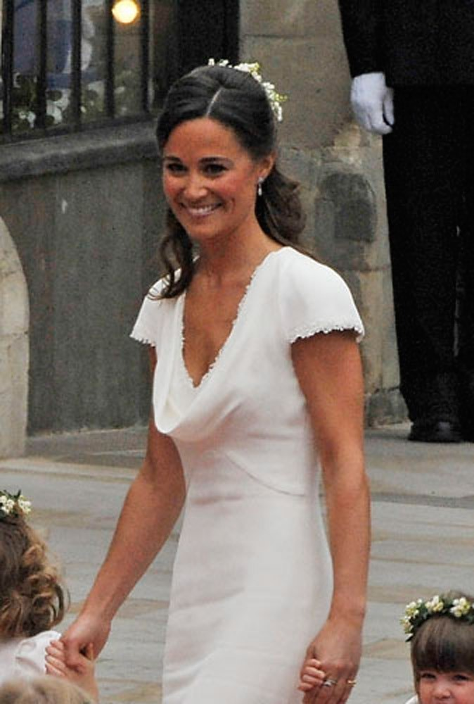 Le sourire de star de Pippa Middleton