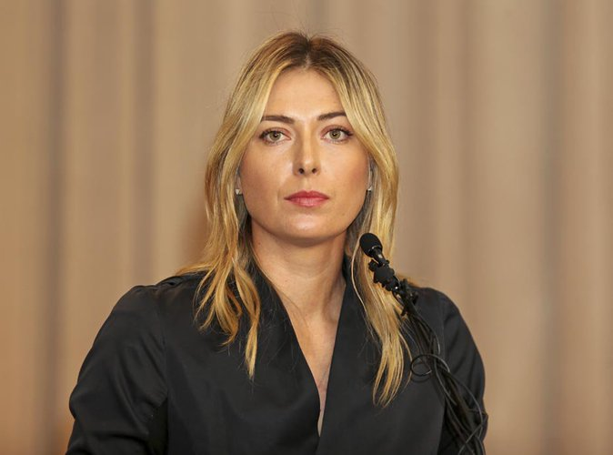 Maria Sharapova : Suspendue pendant deux ans !