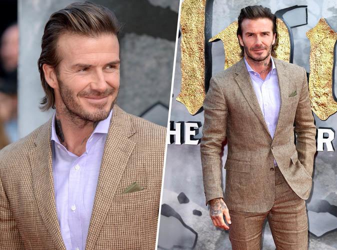 David Beckham : Il étale toute sa classe lors de l'avant-première de King Arthur