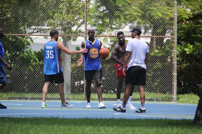 Paul Pogba à Miami le 20 juillet 2016