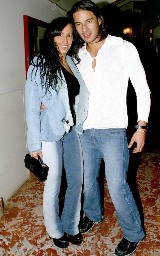 Diana et Brando en 2003...