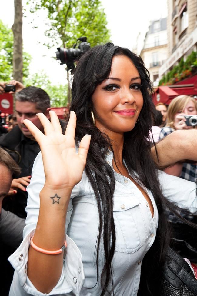 Nabilla le 27 juin 2012 à Paris