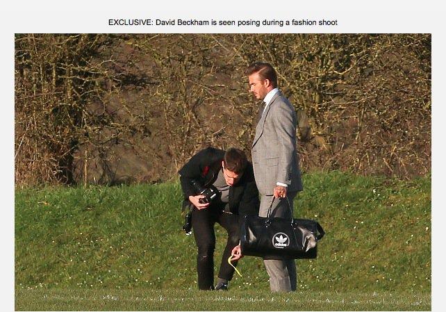 David Beckam pour Adidas