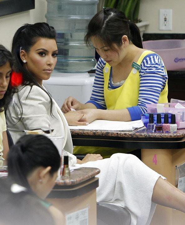 Kim, la parfaite cliente blasée ?