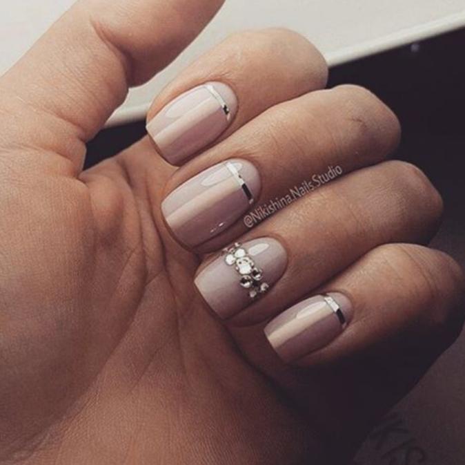 Mariage Nail Art 100 Mod Les De Manucures Parfaites Pour Le Jour J
