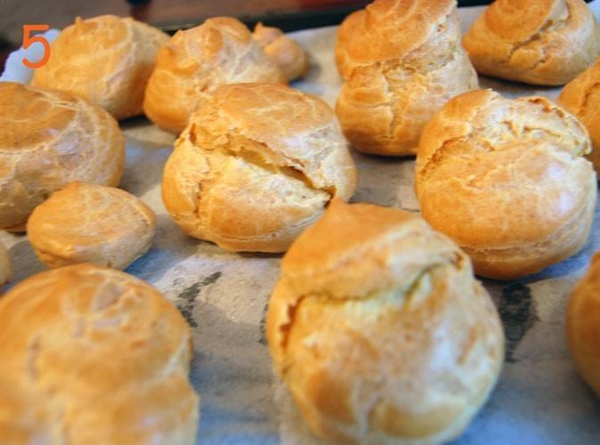 Les choux à la crème de crabe de Cyril Rouquet : étape 5