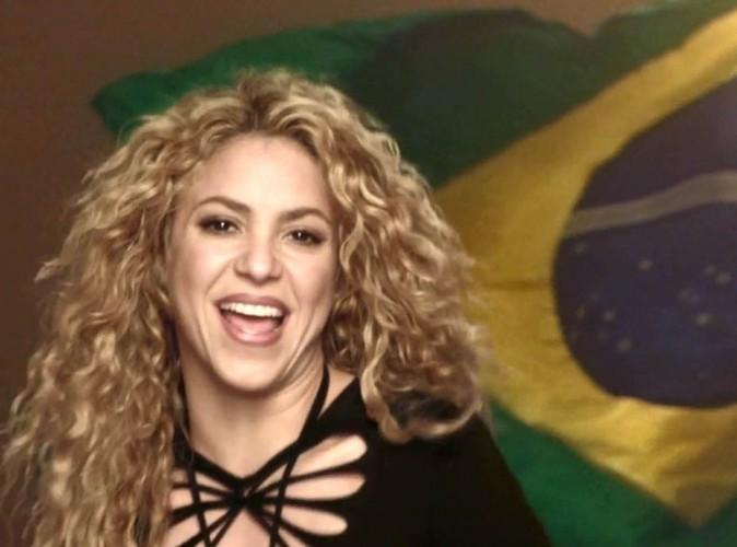 Mondial 2014 : Shakira : elle jubile apr�s la victoire de la Colombie... Pendant que Gerard Piqu� continue de faire profil bas !