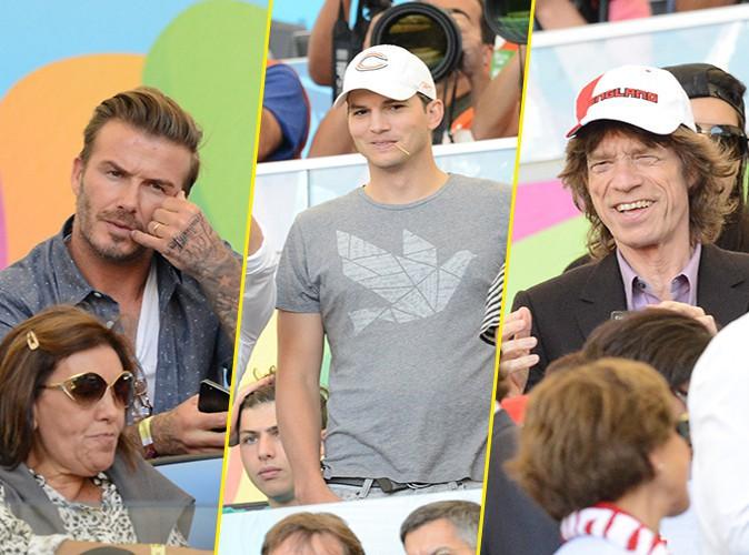 Mondial 2014 : David Beckham, Ashton Kutcher, Mick Jagger : pluie de stars pour la finale !