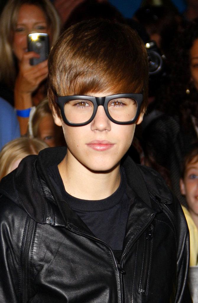 Justin Bieber à la première de Megamind à Los Angeles, octobre 2010