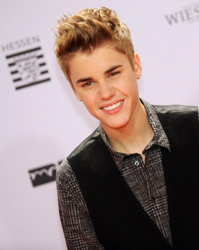 Justin Bieber aux Bambi Awards en Allemagne, novembre 2011