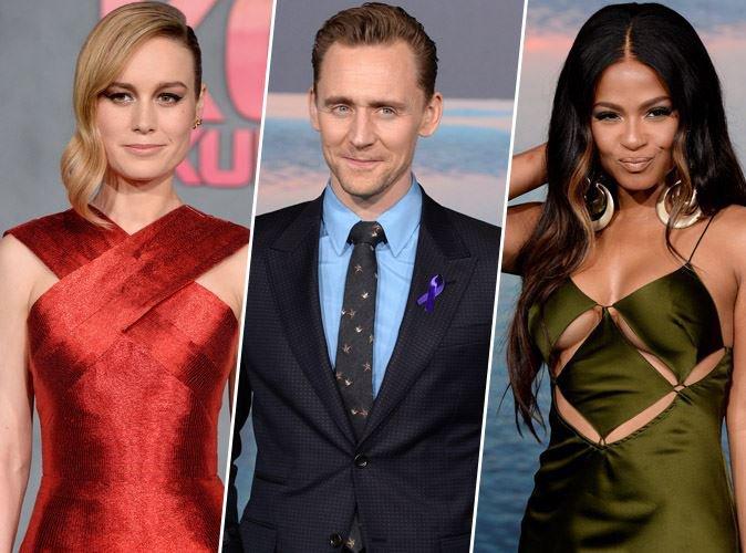 Brie Larson, Tom Hiddleston, Christina Milian... à l'avant-première du très attendu Kong Skull Island
