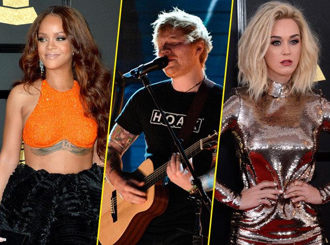 Grammy Awards 2017 : Rihanna, Ed Sheeran, Katy Perry... grandioses lors de la cérémonie