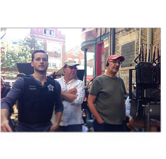 """Jesse Lee Soffer sur le tournage de la saison 4 de """"Chicago PD"""""""
