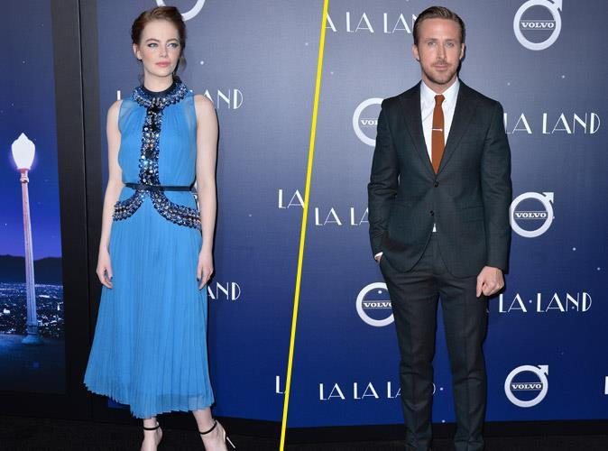 Ryan Gosling et Emma Stone, en roi et reine à la première de La La Land
