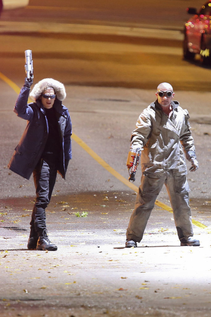 "Wentworth Miller et Dominic Purcell interprètent Leonard et Mick dans ""Legends of Tomorrow"""