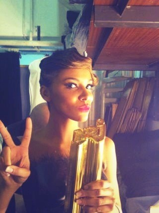 Son NRJ Music Award !