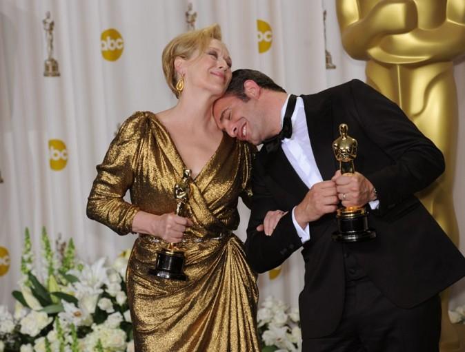 Avec sa copine Meryl Streep !