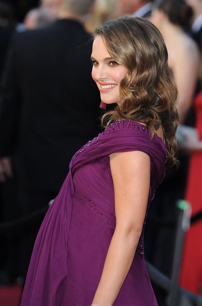 Très enceinte lors des Oscars 2011 !