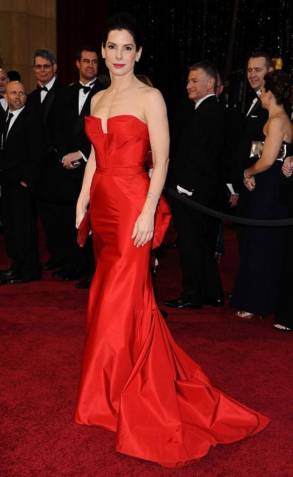 Sandra Bullock flamboyante