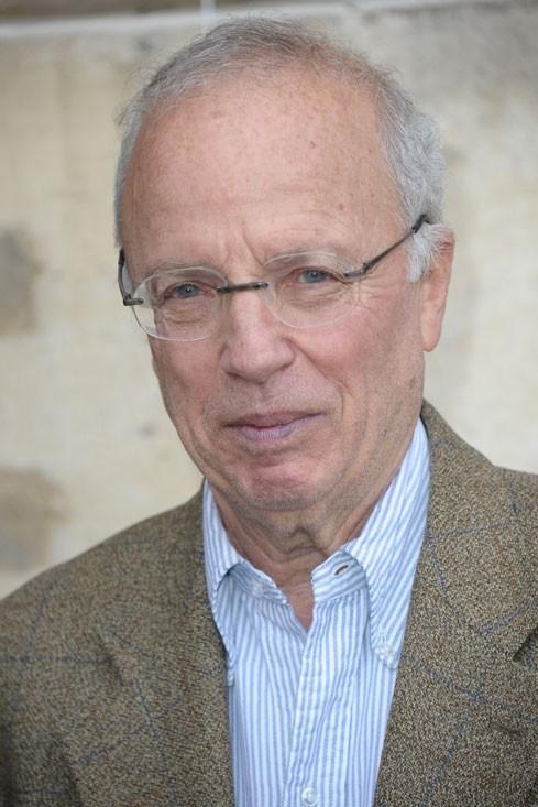 Le journaliste sportif Thierry Roland