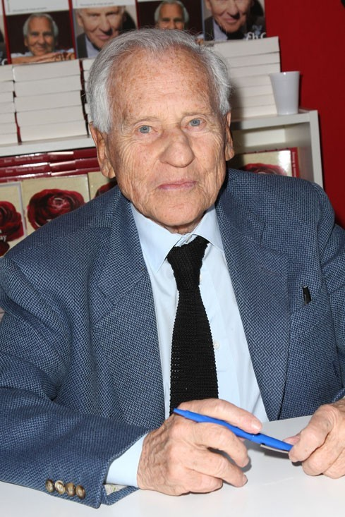 L'écrivain Jean d'Ormesson