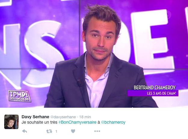 Public Buzz : #BonChamyversaire, les twittos fêtent l'anniversaire de Bertrand Chameroy !