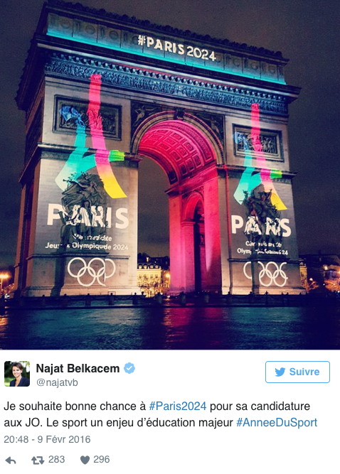 Public Buzz : Photos : Les JO de 2024, la Toile se mobilise !