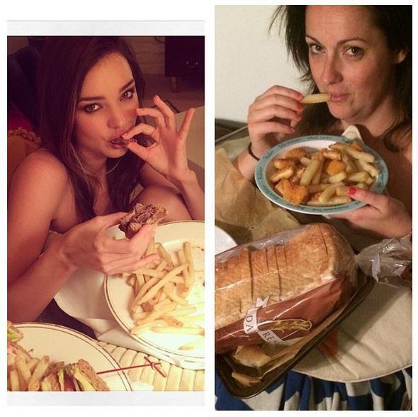 Public Buzz : Photos : quand une comédienne reproduit les poses de Kim Kardashian ou de Justin Bieber...