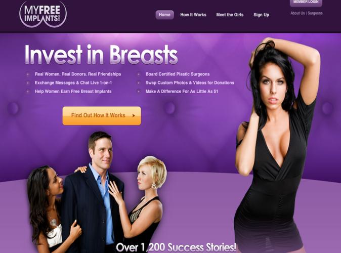 Public Buzz : Se faire refaire les seins gratuitement c'est désormais possible !
