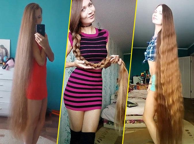 Public Buzz :  Découvrez Dashik Gubanova, la Raiponce humaine !