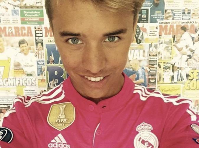 Public Buzz : Photos : A 17 ans, Teddy est le plus grand fan de Cristiano Ronaldo !