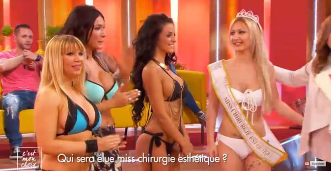 Public Buzz : Photos : Policière, elle est élue Miss Chirurgie Esthétique !